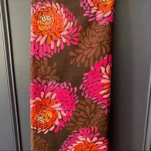 Bright floral scarf / wrap